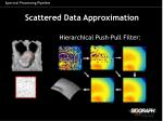 scattered data approximation