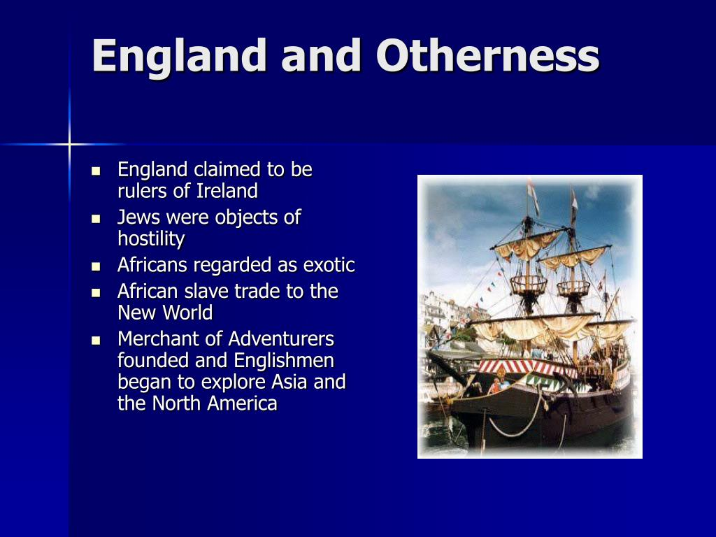 England and Otherness