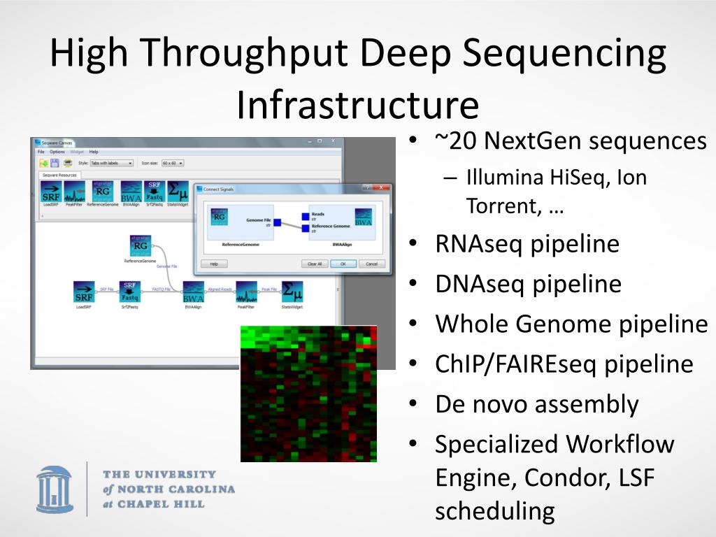 High Throughput Deep Sequencing Infrastructure