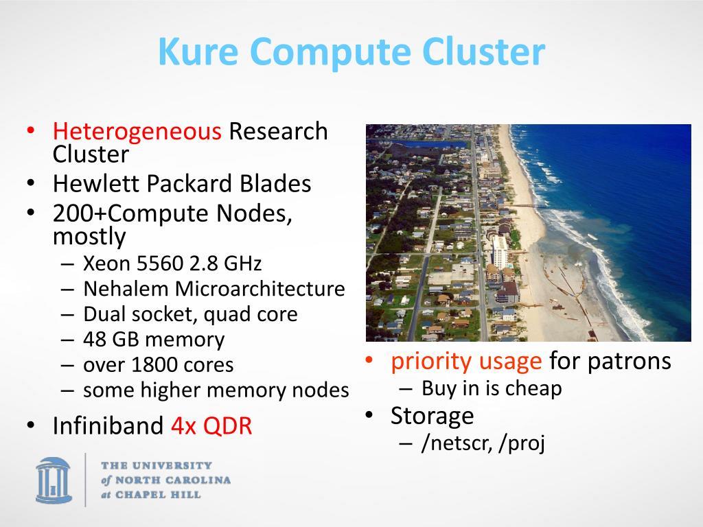 Kure Compute Cluster