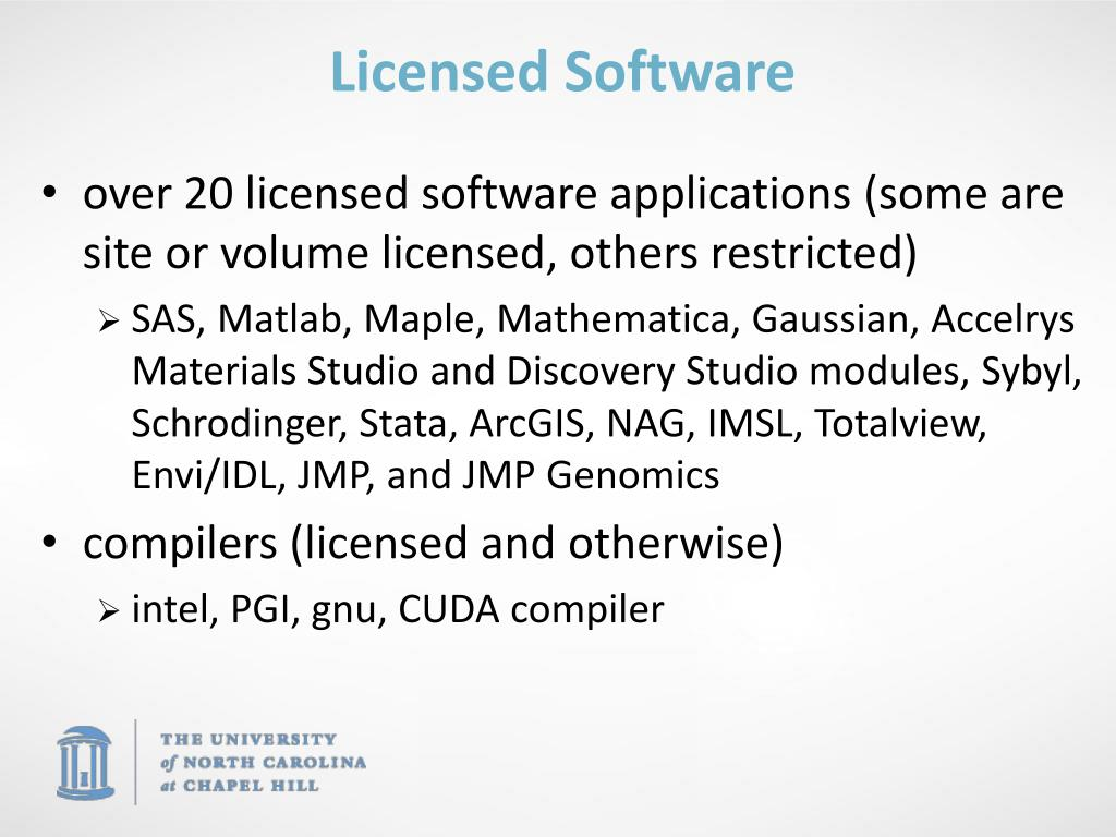 Licensed Software