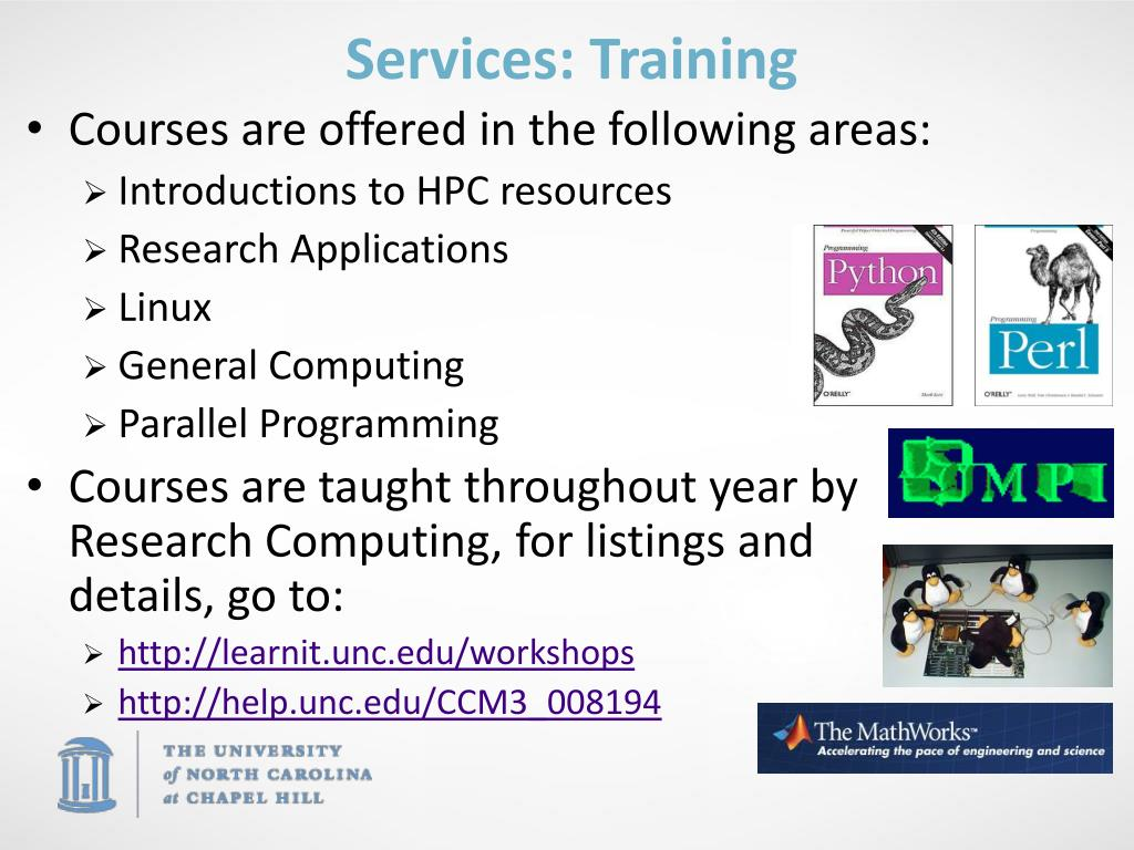Services: Training