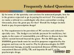 frequently asked questions37