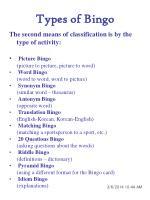 types of bingo4