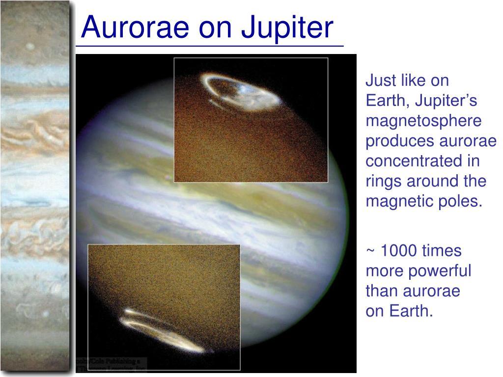 Aurorae on Jupiter