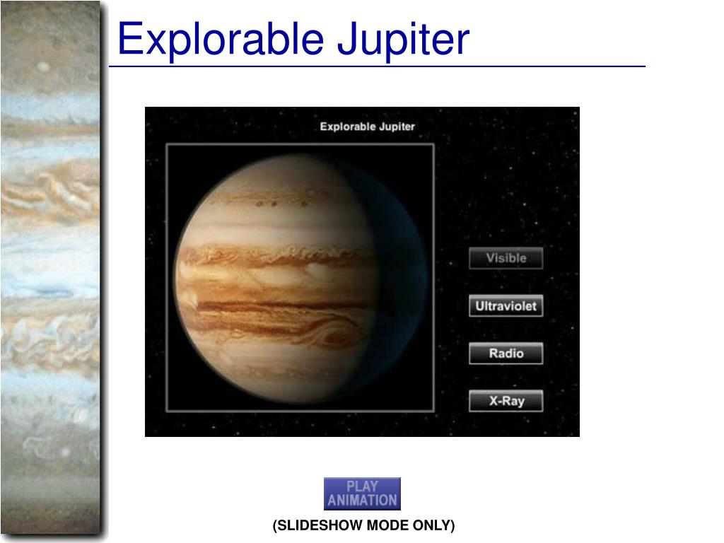 Explorable Jupiter