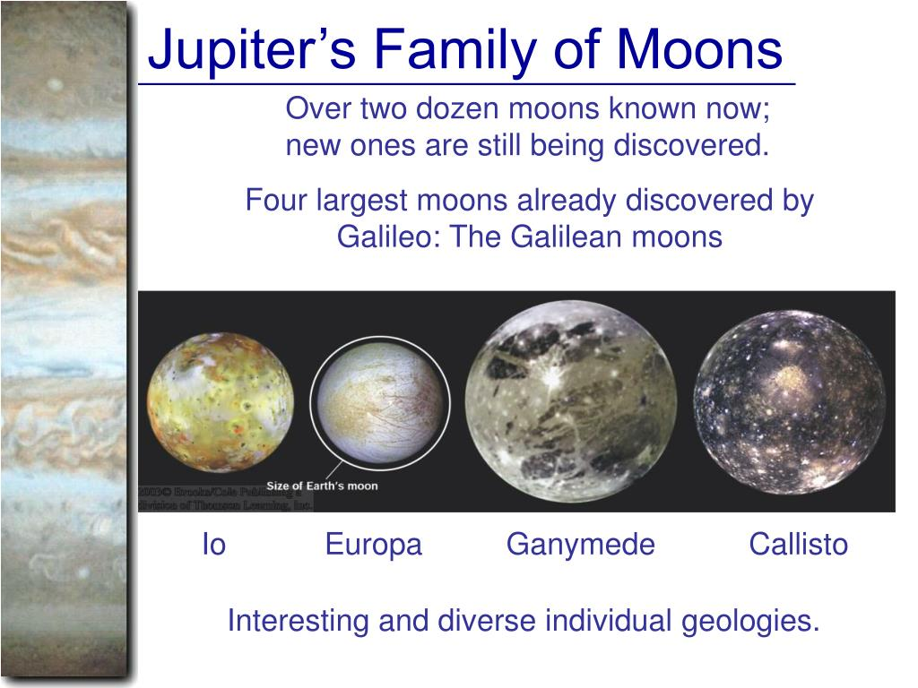 Jupiter's Family of Moons