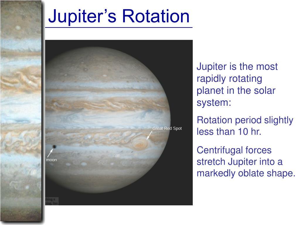 Jupiter's Rotation