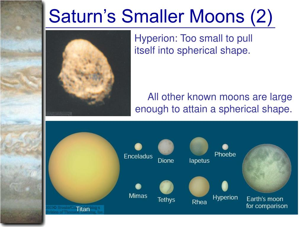 Saturn's Smaller Moons (2)