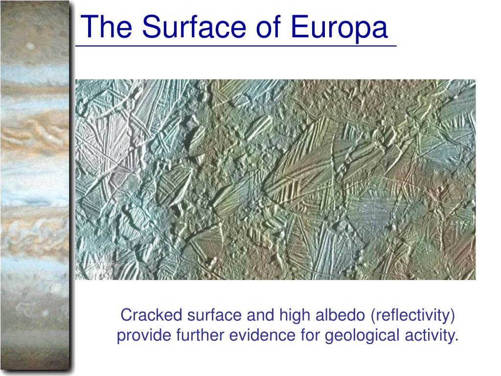 The Surface of Europa