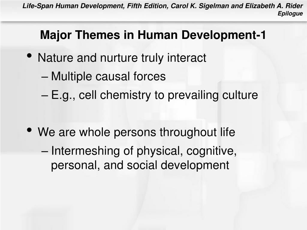Major Themes in Human Development-1