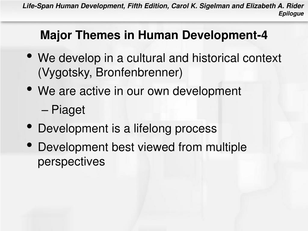 Major Themes in Human Development-4