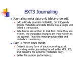 ext3 journaling38