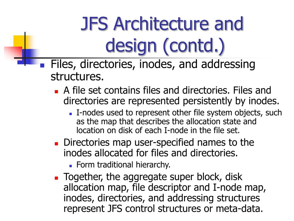 JFS Architecture and