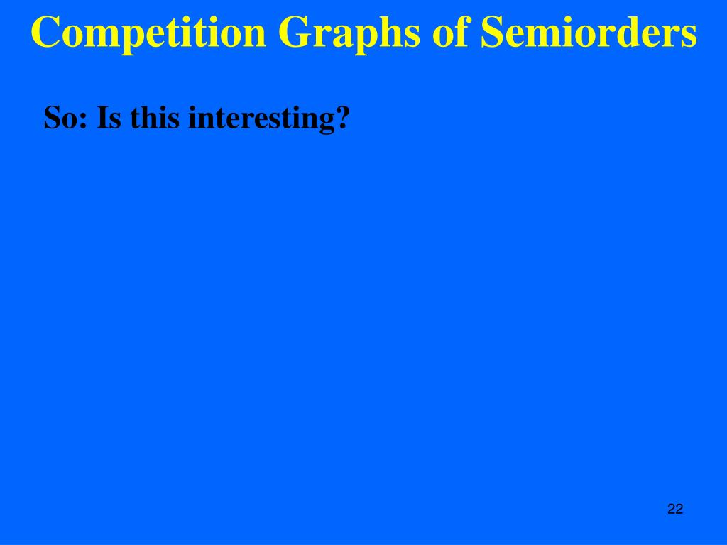 Competition Graphs of Semiorders
