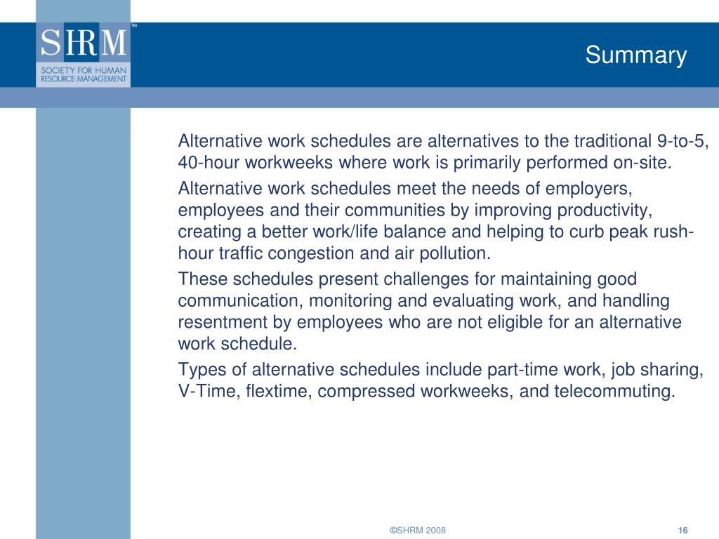 The Advantages & Disadvantages of Flexible Scheduling for an Employer