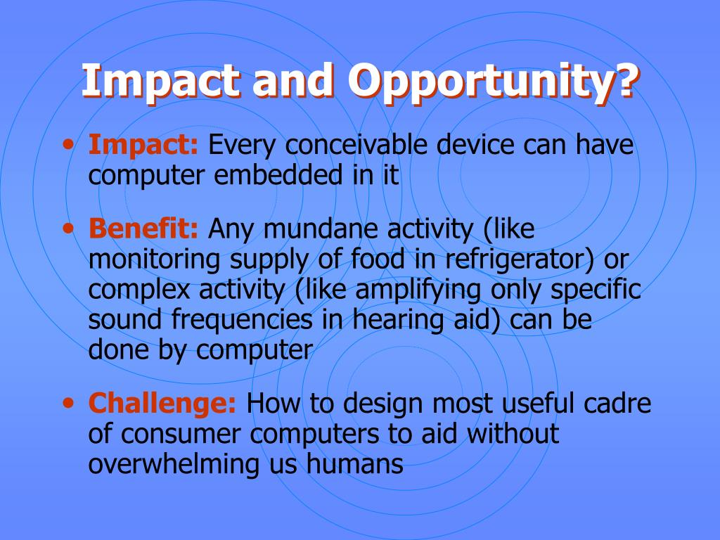 computer use and its impact on The most typical example of the use of ict is the use of computers  of data  collection to determine the impact of computer use on the students' health have.