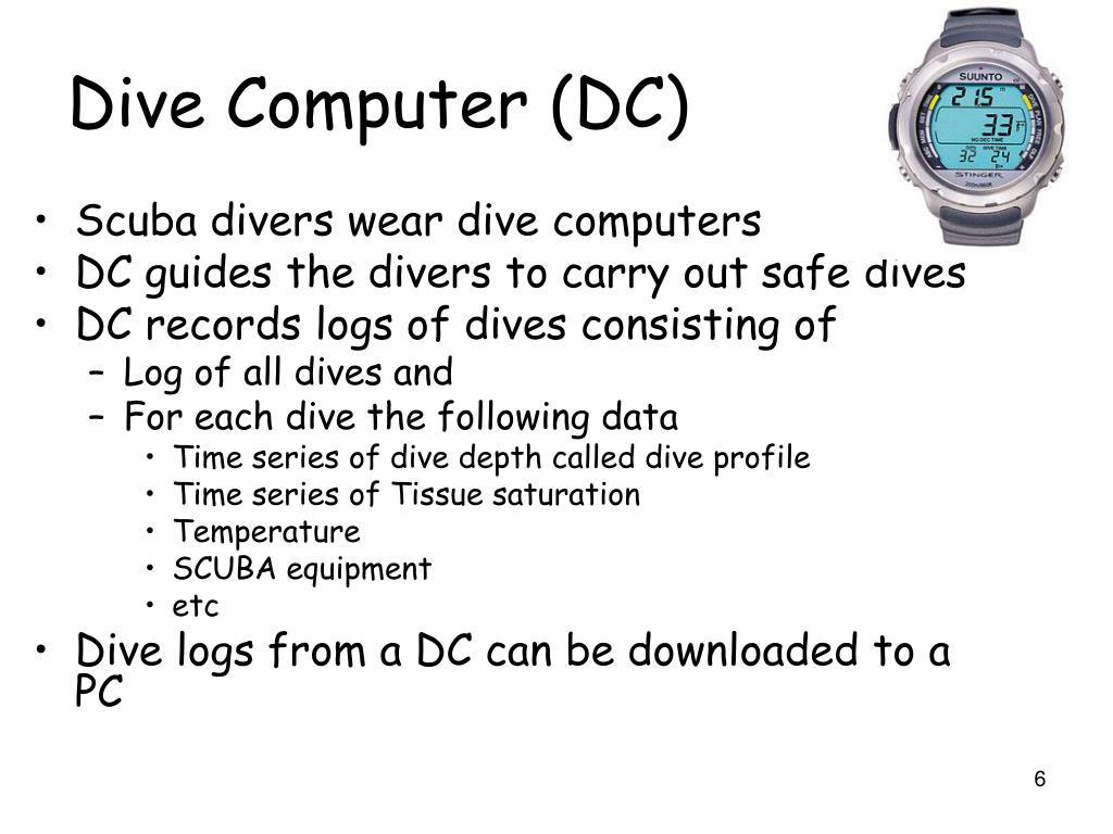Dive Computer (DC)