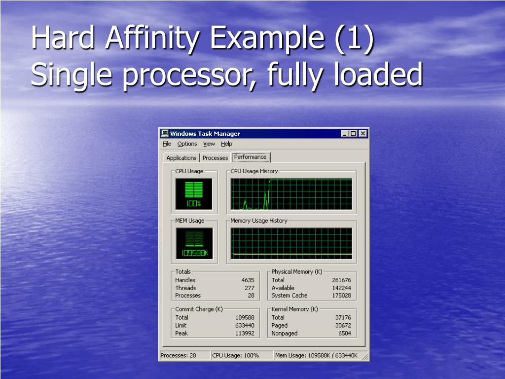 Hard Affinity Example (1)