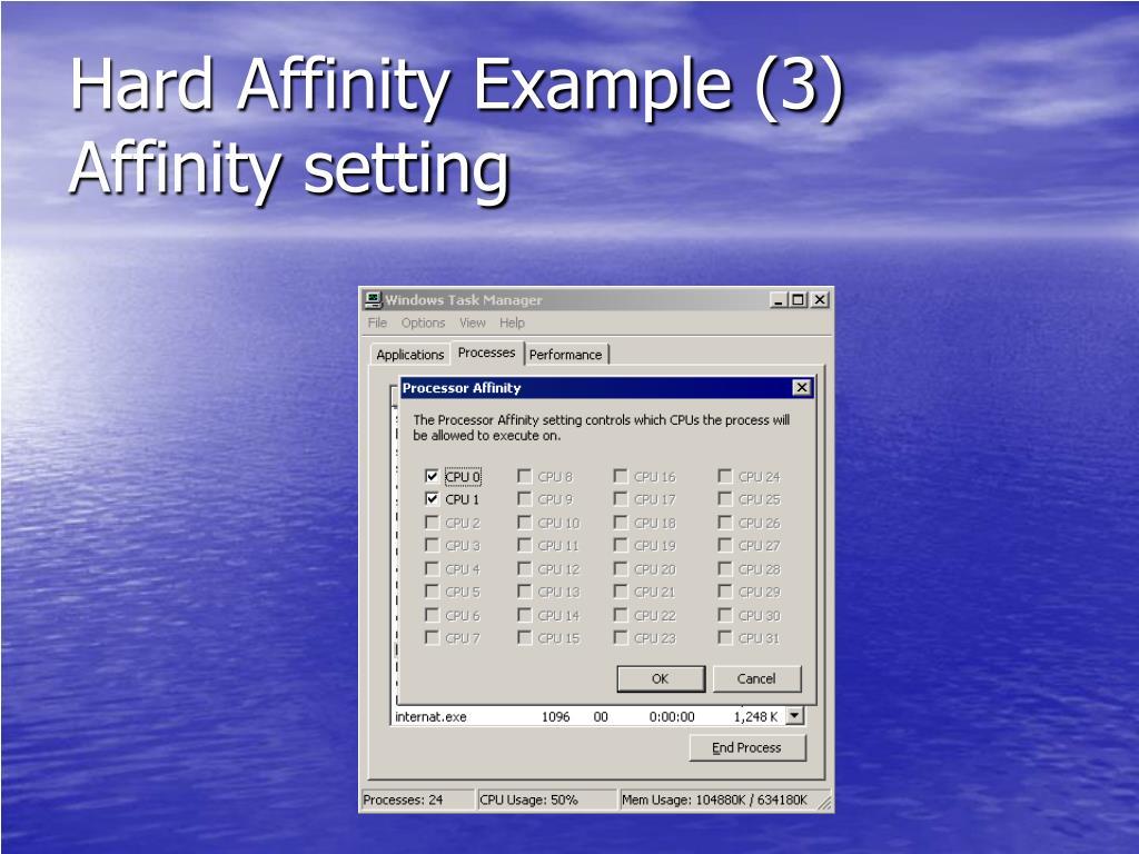 Hard Affinity Example (3)