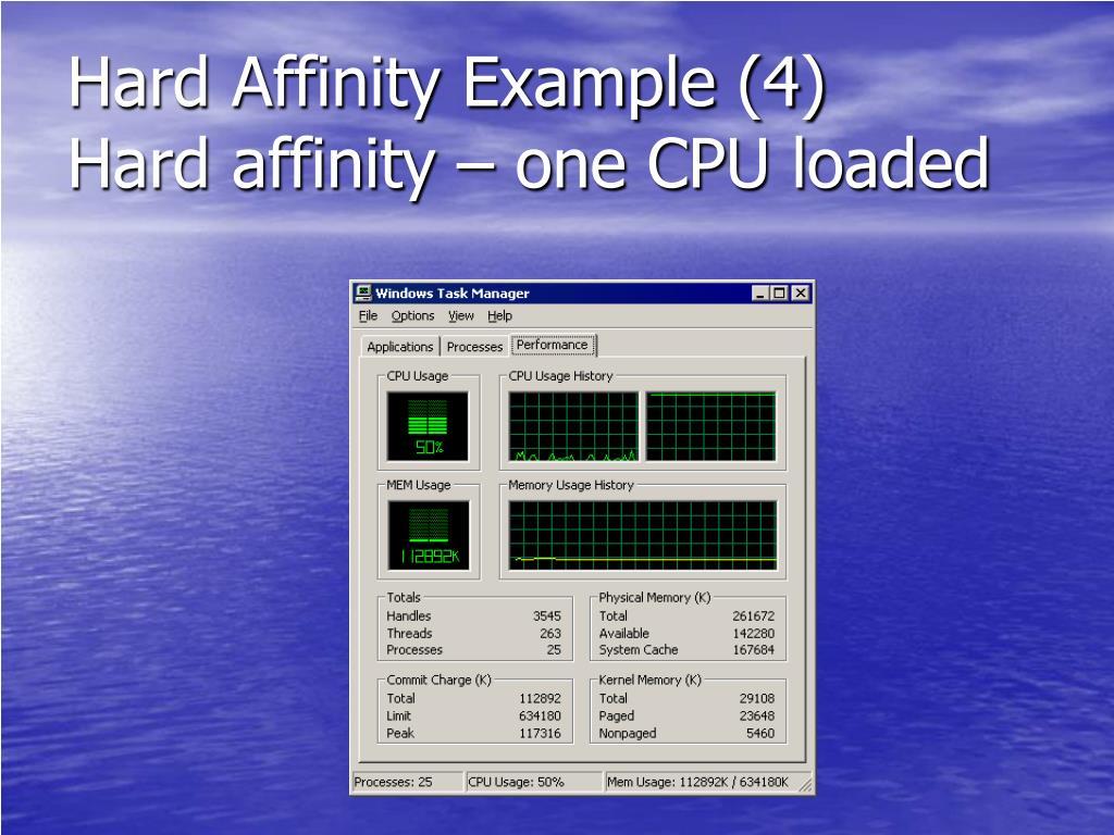 Hard Affinity Example (4)