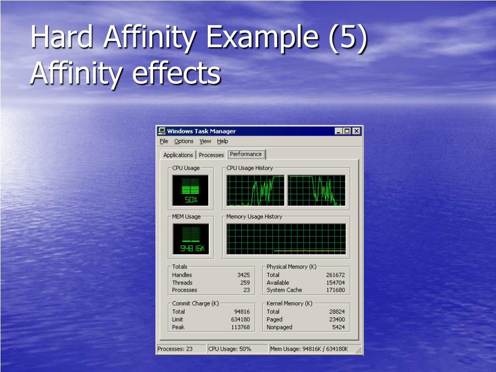 Hard Affinity Example (5)
