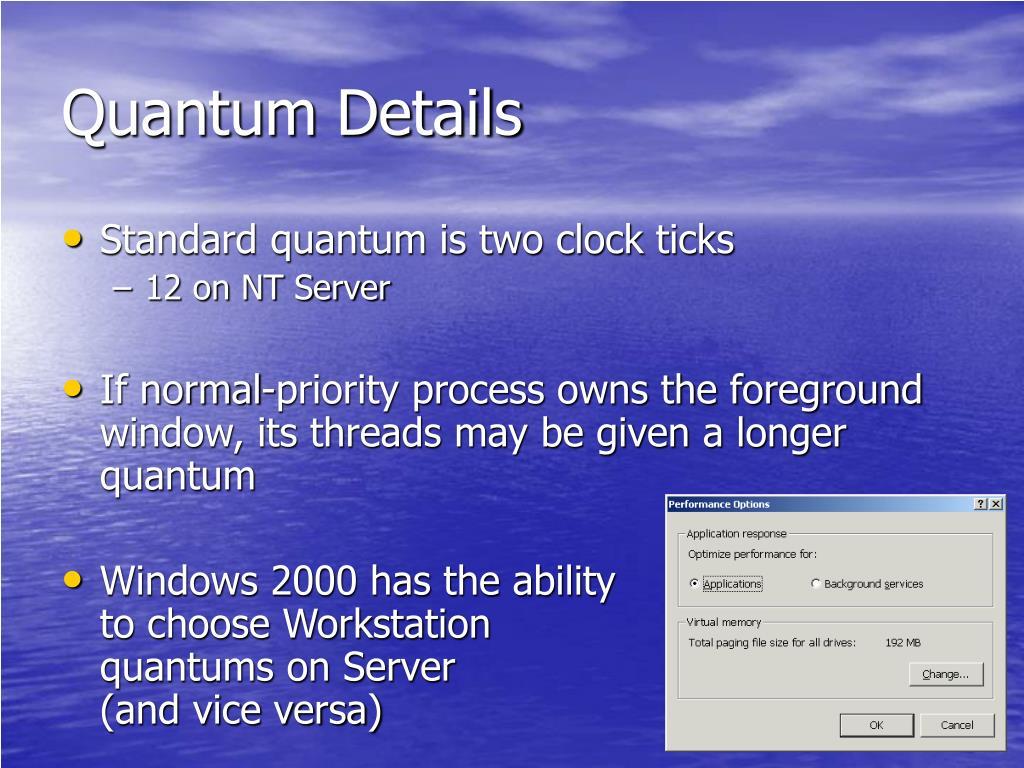 Quantum Details