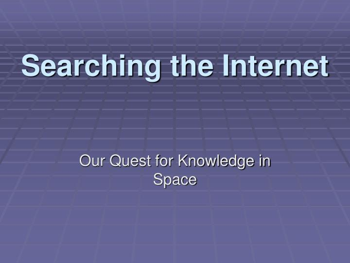 Searching the internet l.jpg