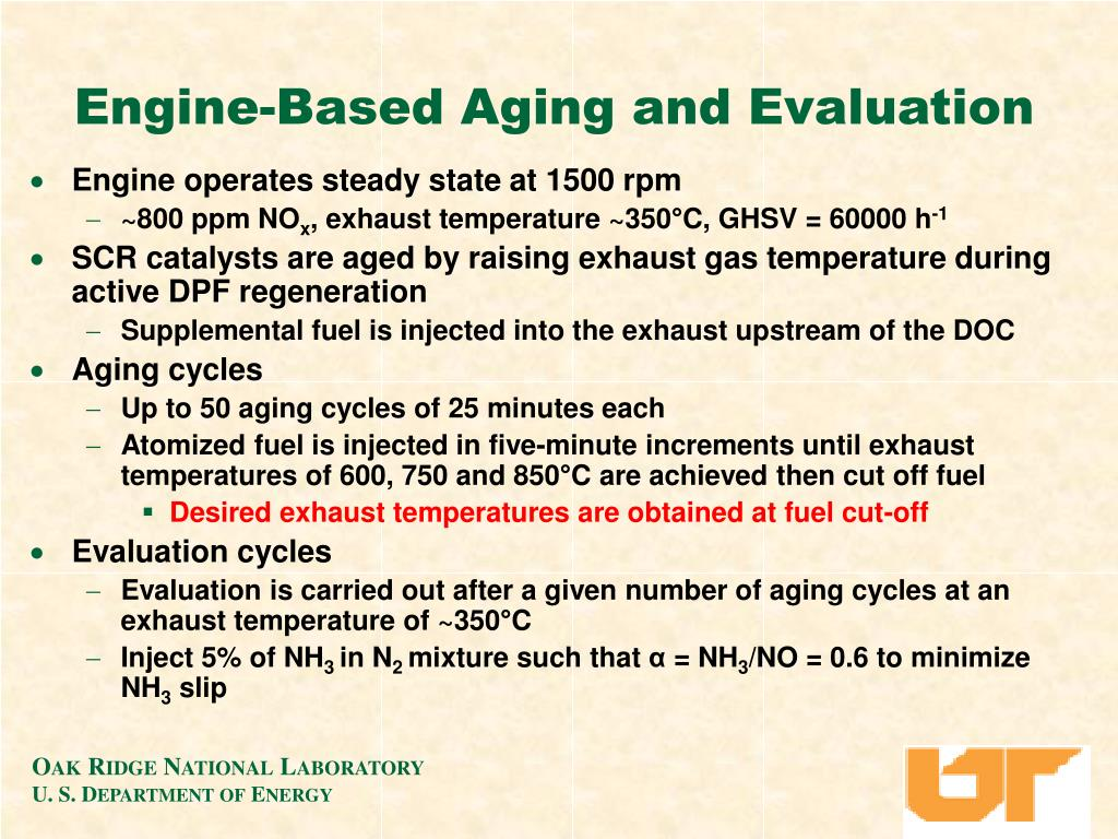 Engine-Based Aging and Evaluation