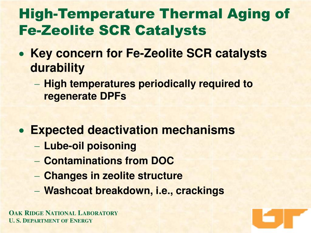 High-Temperature Thermal Aging of