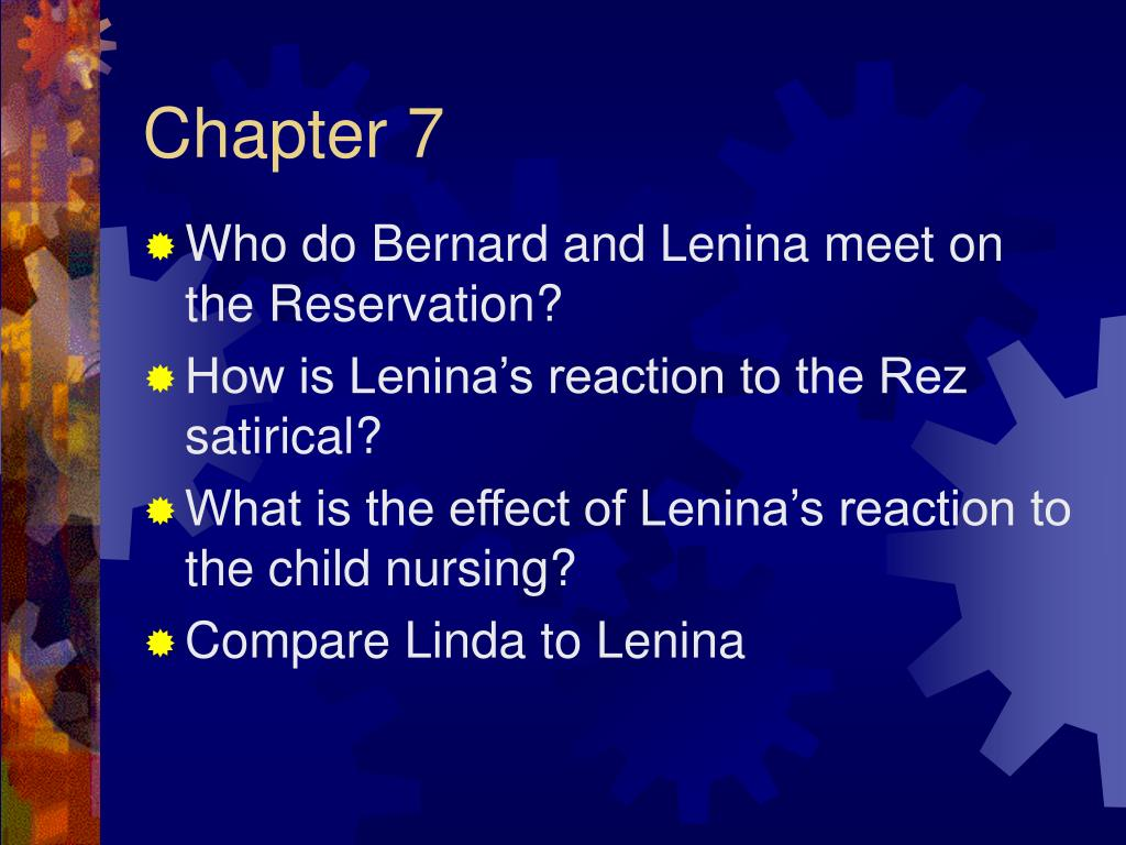 """compare and contrast john and lenina of brave new world What is rumored to have caused his differences what is helmholz  chapter 6  what does bernard want to do on his date with lenina that she finds odd  why  do you think john keeps repeating the phrase """"o brave new world"""" how is his."""