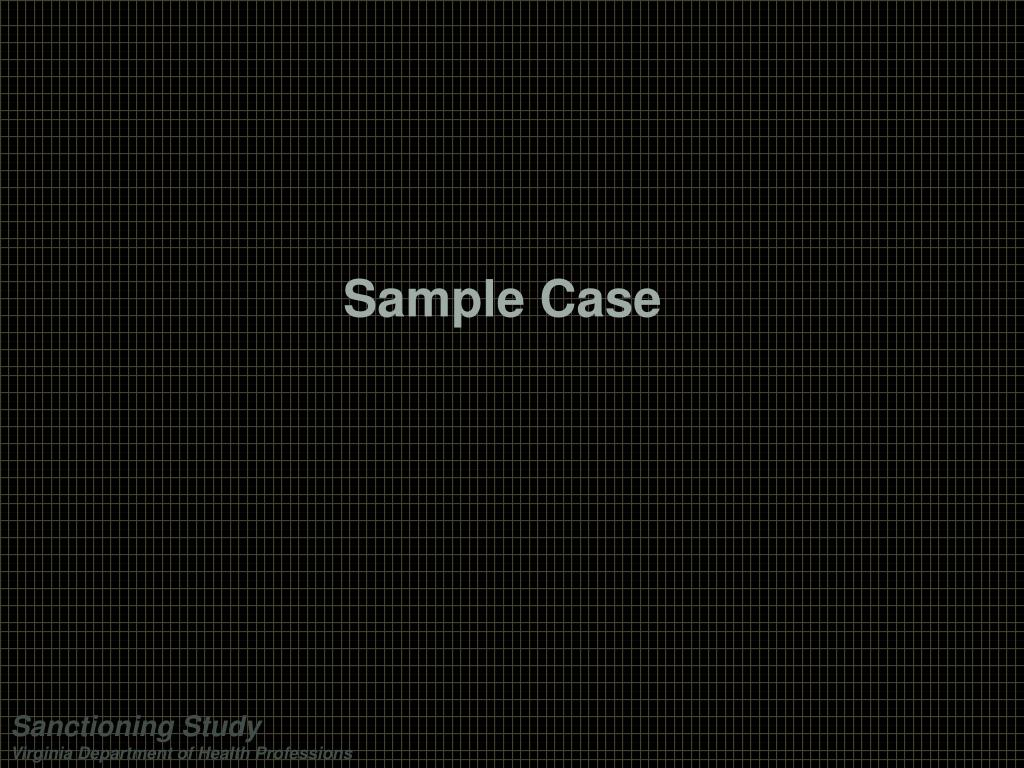 Sample Case