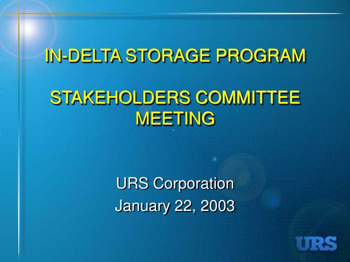 In delta storage program stakeholders committee meeting l.jpg