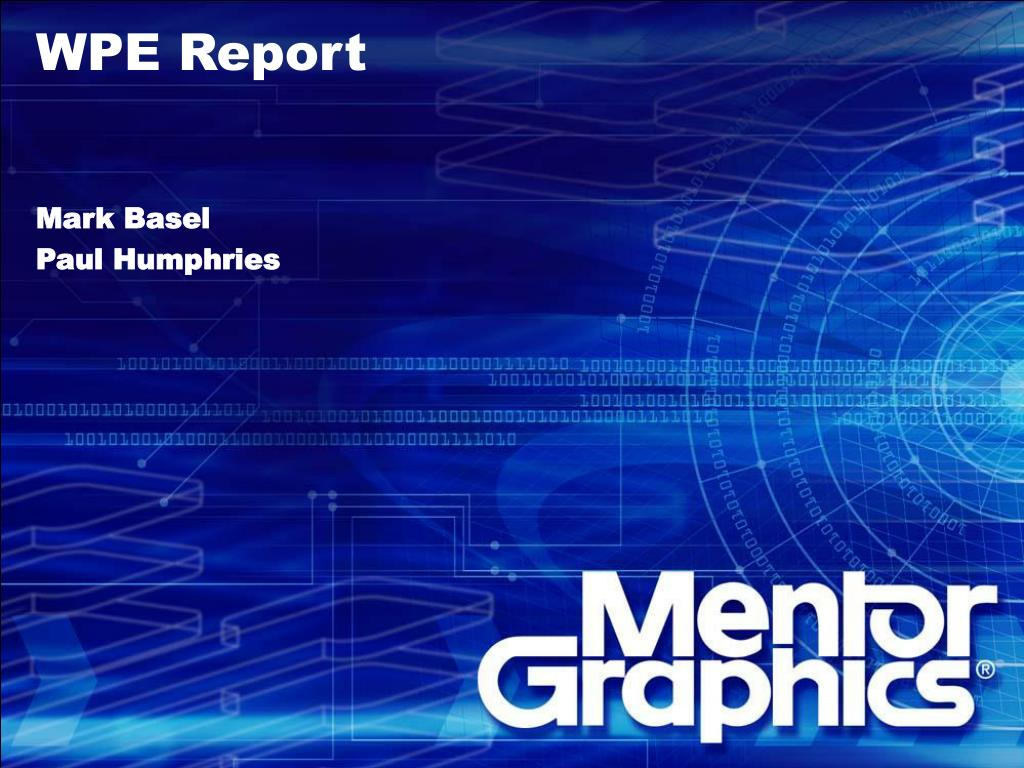 WPE Report