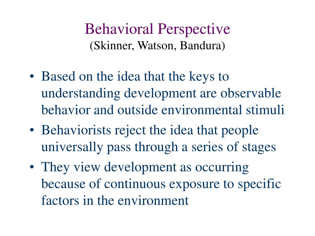 skinner vs bandura Before chomsky: a rebuttal to bf skinner's verbal behavior  the study of  albert bandura, vygotsky, krashen, and gardner will also be as  the potential  of an individual at a certain human developmental stage versus the.