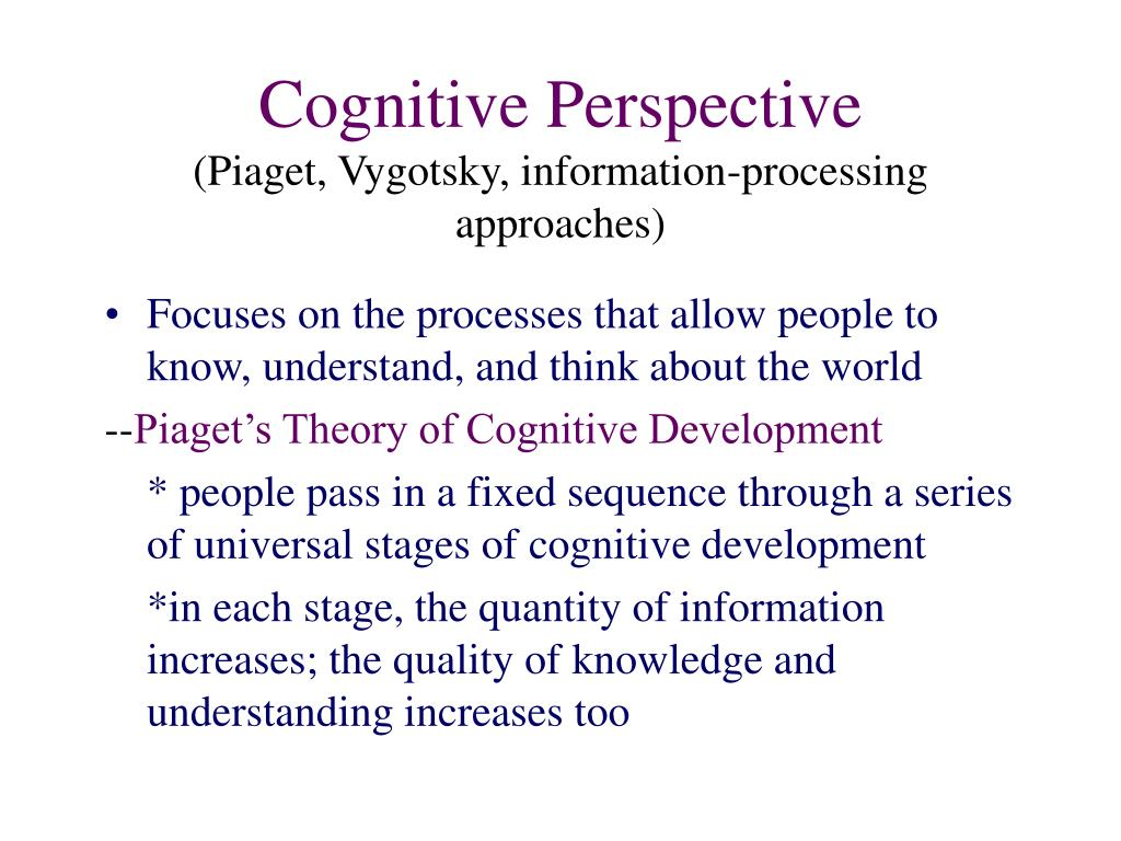 christian perspective on cognitive theory In his book cognitive therapy techniques in christian counseling mcminn provides a very insightful perspective concerning the application of cognitive therapy techniques from a christian perspective the book is divided into three main parts.