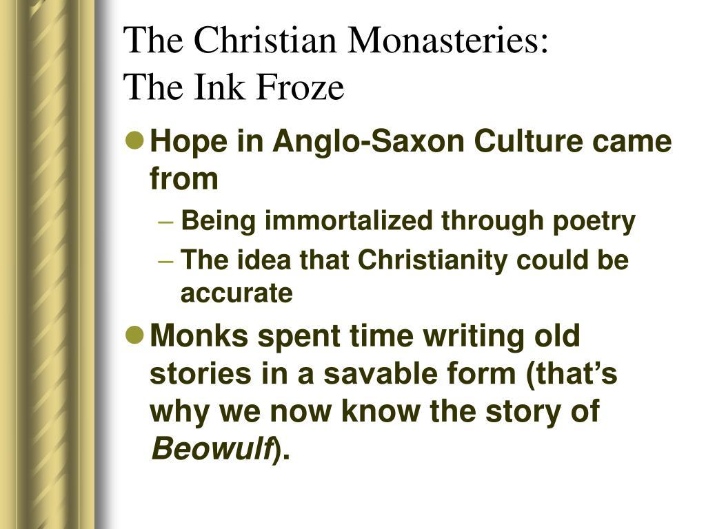 The Christian Monasteries: