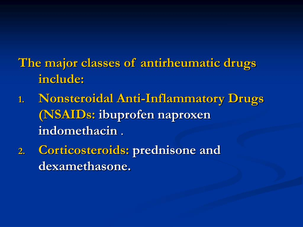 Ppt Antipyretic Analgesic Nonsteroidal Anti Inflammatory