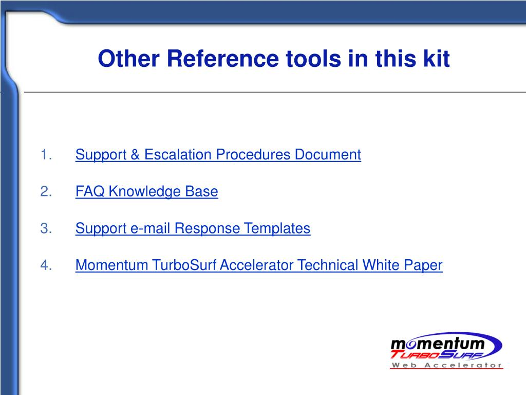 Other Reference tools in this kit