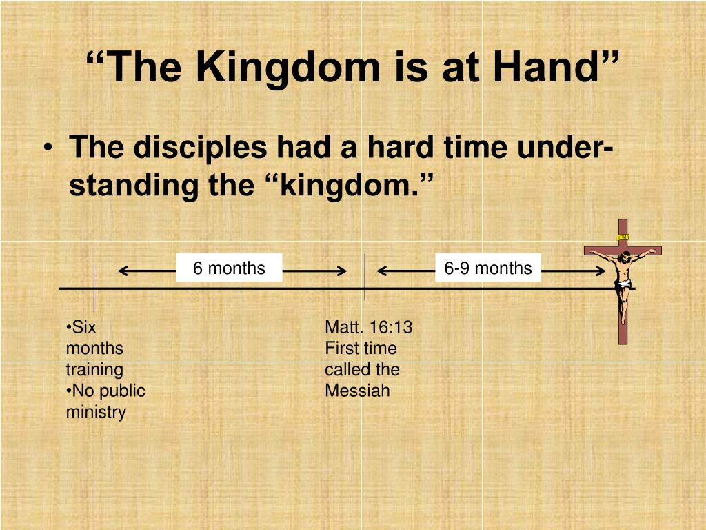 """The Kingdom is at Hand"""