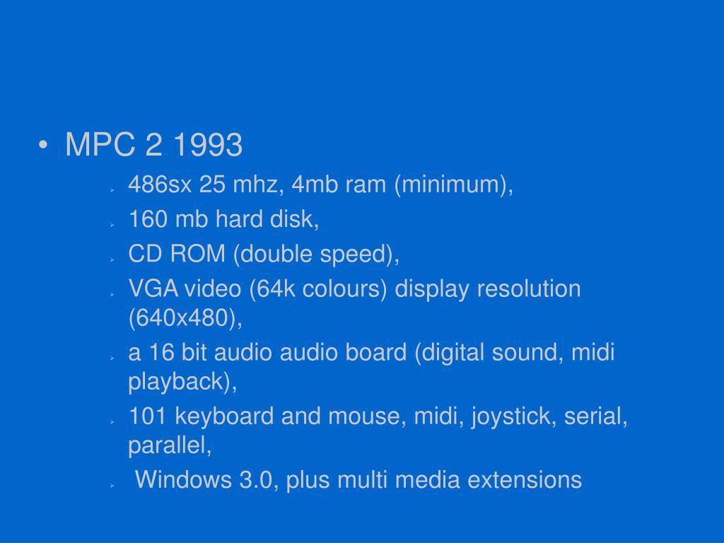 MPC 2 1993