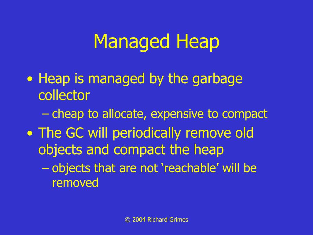 Managed Heap