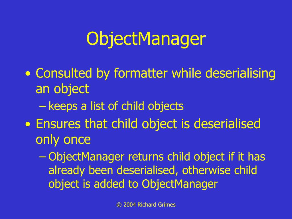 ObjectManager