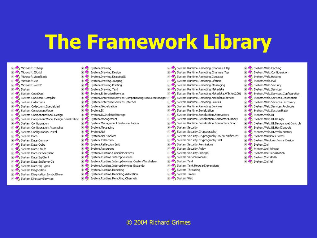 The Framework Library