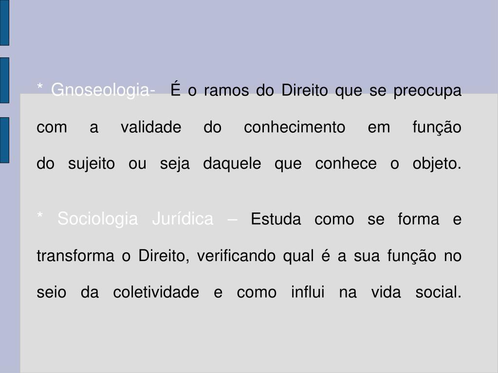* Gnoseologia-