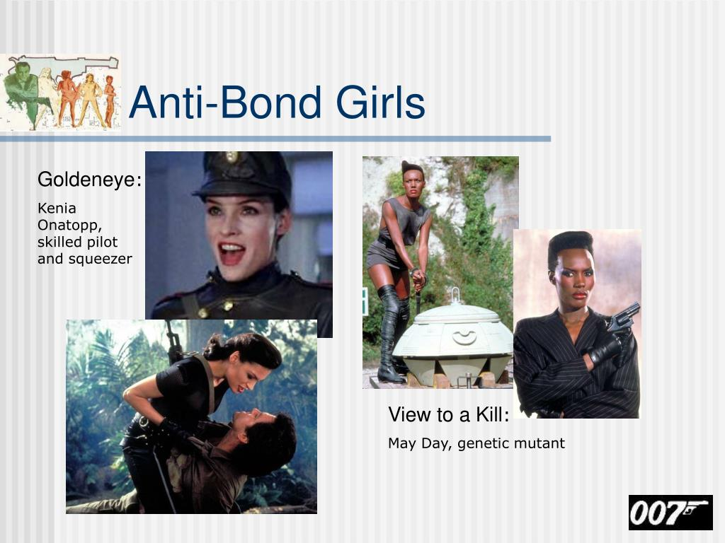 Anti-Bond Girls