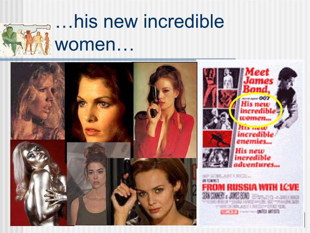 …his new incredible women…