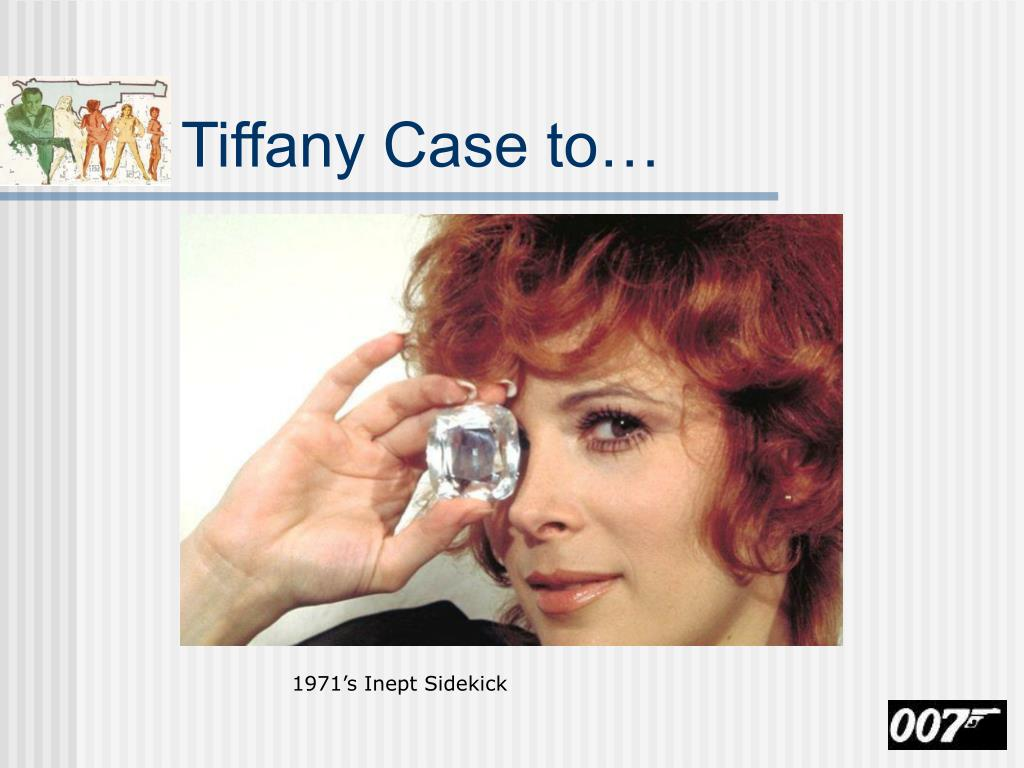 Tiffany Case to…