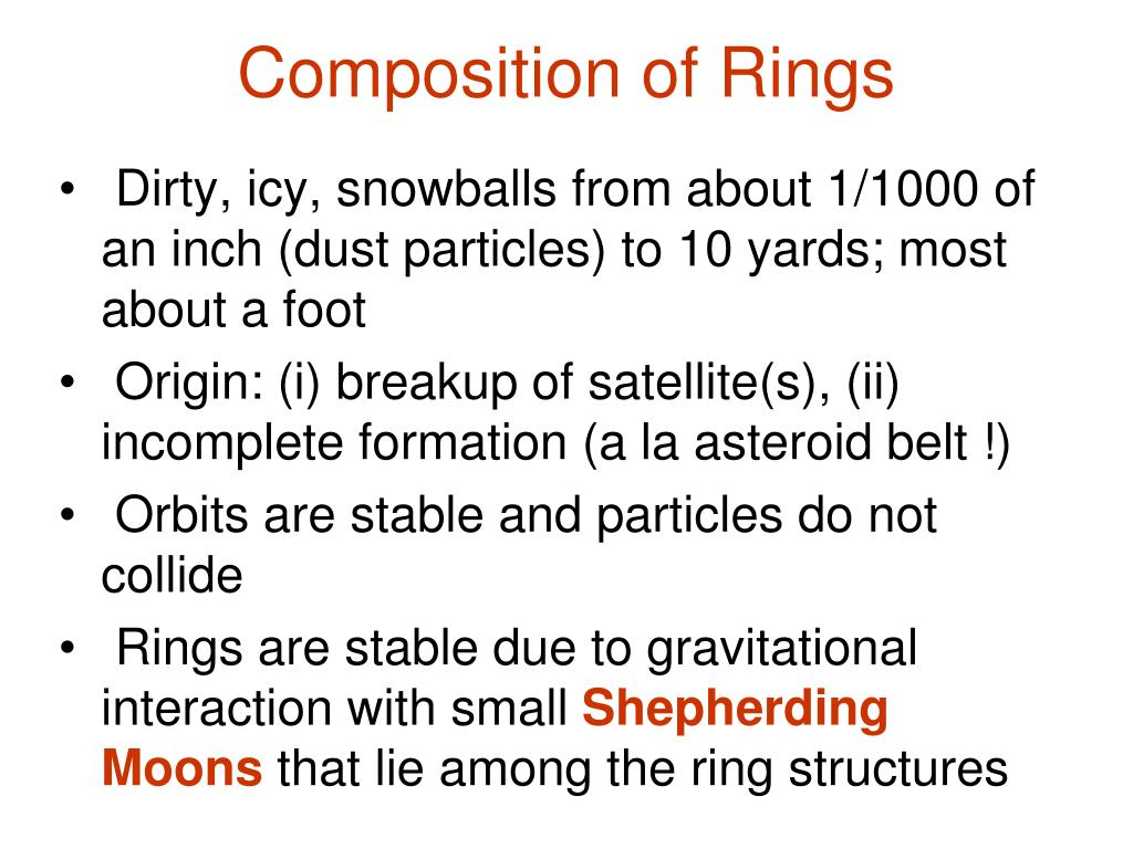 Composition of Rings