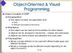 object oriented visual programming34